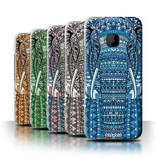 STUFF4 Phone Case/Back Cover for HTC One/1 M9 /Aztec Animal Design