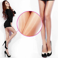 Women Shimmer Shiny Glossy Sexy Sheer Stockings Pantyhose Tights Opaque Hosiery