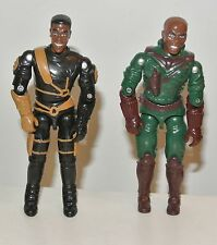 Bronze Bombers Defenders of Justice gi joe action force figures 1997 Roughshot