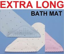 EXTRA LONG RUBBER GRIP SUCTION NON-SLIP BATH SHOWER MAT