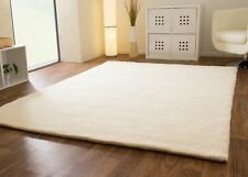 HAND MADE MOROCCAN BERBER RUG DOUBLE 15/15 100% NEW WOOL IVORY NATURAL