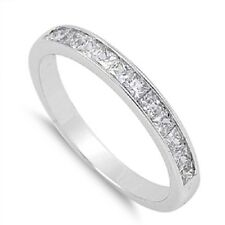 Plain CZ Ring, w/ Free Gift Box, 925 Sterling Silver, Trendy, Cute, Girly, Mom