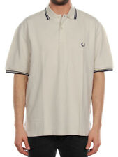 FRED PERRY REGULAR BIANCO GESSO 30100082 polo uomo