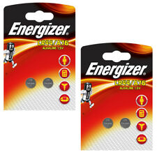 Energizer Batteries LR44 AG13 A76 PX76A 1.5v Alkaline Button Coin Cell Battery