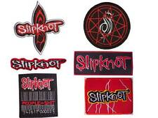 New Slipknot Logo Heavy Metal Rock Band embroidered iron on patch.