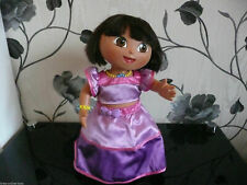 DORA THE EXPLORER REALLY DID IT PRINCESS MAGIC HAIR DRESS AND DANCE SINGING DOLL