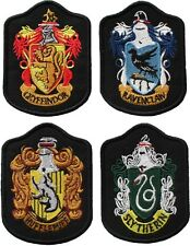 Harry Potter House Crest Badge Embroidered Patch Gryffindor Slytherin Ravenclaw