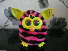 HASBRO OFFICIAL FURBY BOOM ZIG ZAGS BLUE WAVES STRIPES STRIPED POLKA DOT PET TOY