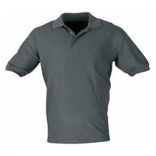 Polo-Shirt CoolDry Funktions-Shirt grau Sport-Shirt-Polo leicht Funktion