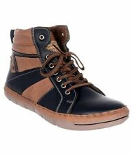 Moladz Men's Hunted Faux Leather Casual Boot (MFTCS0225TBL)