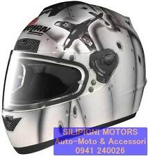 NOLAN N63 FLY 49 METAL White CASCO INTEGRALE MOTO SCOOTER - TAGLIA L