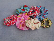Fabric Hair Scrunchies - Lots of colours & Fabrics to pick from
