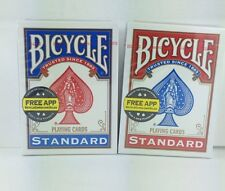 Bicycle Standard Rider Back Playing Cards - Red & Blue Decks