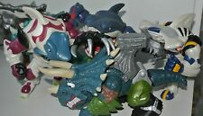 Street Sharks Dinosaures action force figures Blades T-Bone Repteel Slash Spike