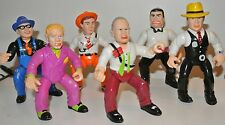 1990 Dick Tracy action figures Pruneface Sam Catchem Itchy Lips Manlis