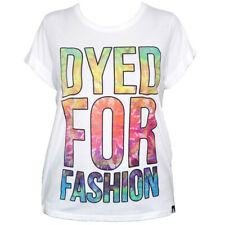 New Delta Tribe Dyed For Fashion T-Shirt in White