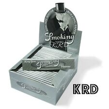 Smoking Silver Master King Size Rolling Paper Cigarette Rizla Papers UK Seller