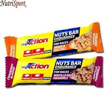 Proaction - Nuts Bar Endurance, 25 pz. da 30 g. Barrette Energetiche