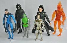 Fantastic Four 4 action force figures Marvel comic The Thing Torch Mr Dr Droom
