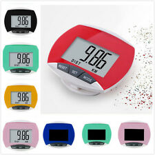 New Dital LCD Multi Pedometer Walking Step Distance Calorie Counter Run Fitness