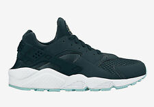 Nike Air Huarache Mens Trainer Armoury Navy/Whte-Island Green-Flat Opal All Size