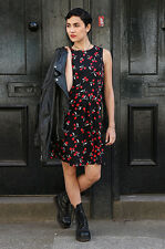 "Love Bricklane ""Tabatha"" Cherry Print Dress."