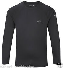 RONHILL MENS PURSUIT Long Sleeve Technical Sports Running T-Shirt or Baselayer