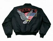 Blouson Bombers MA-1 Bikers Live to Ride