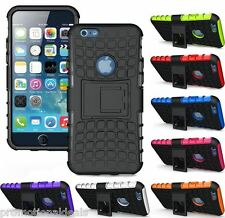 PREMIUM STYLE GRIP RUGGED HARD BACK CASE COVER FOR Apple iPhone 6S (4.7 inch