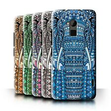 STUFF4 Phone Case/Back Cover for HTC One Max /Aztec Animal Design