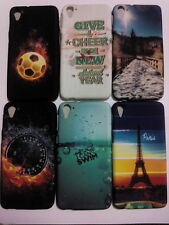 For HTC Desire 826 Back Cover Premium Quality Printed Soft Silicon Cover Case