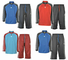 Patrick Mens Three Quarter 3/4 Training Set Football Top And Training Bottoms
