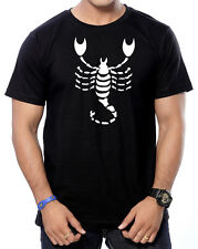 Premium Cotton Round Neck Printed T-Shirts for Men - Scorpio