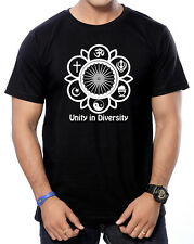 Round Neck Cotton Printed T-Shirts for Men