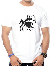 Round Neck Cotton Printed T-Shirts for Men - Sagittarius