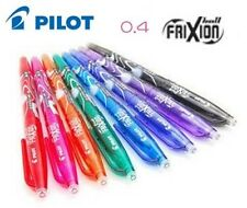 FRIXION Point Gel Ink Pen 0.4 0.5 mm Erasable Ink Pilot CHOOSE YOUR COLORS Gift