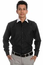 Tag & Trend Formal Shirt Black Color for Men