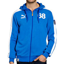 Puma Mens T7 Football Archives Jacket Zip Hoodie Italia Track Top - Free Post