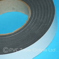 Single Sided Foam Tape-4.5mm x 30mm Wide-Self Adhesive Closed Cell Weatherproof