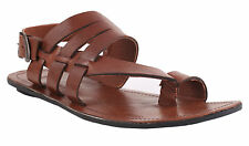 Guava Brown Leather Sandals | Mens Brown Leather sandals