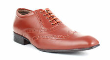 Guava Brogue Shoes - Tan | Mens Formal Shoes