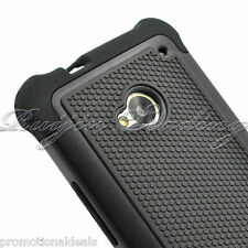 PREMIUM STYLE GRIP RUGGED Protective HARD BACK CASE COVER FOR HTC One M7