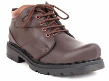 Guava Leather Ankle Boot - Brown | Mens Brown Boots