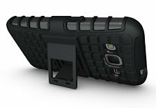Samsung Galaxy Core Prime Case JKase DIABLO Tough Rugged Dual Layer w Kick Stand
