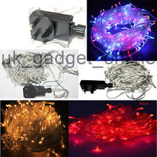 Waterproof 100/200/300 LEDs  String Fairy Lights fr Christmas Tree Wedding Party