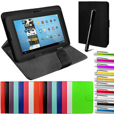 "Alexa Kindle Cover Universal PU Leather Pouch Stand Folding Folio All 7"" Tablet"