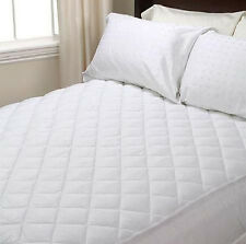 NEW LUXURY EXTRA DEEP QUILTED MATTRESS PROTECTOR All UK SIZES