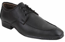 Guava Formal Lace-Up Shoe - Black| Mens Black Formal Shoes