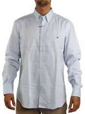 BROOKSFIELD OXFORD BUTTON-DOWN AZZURRO 1111 12249 Camicia manica lunga Uomo