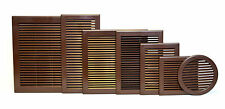 Air Vent Grille in Brown Color with Insect Mesh Grid Ducting Ventilation Cover